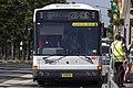 Veolia Transport (mo 8252) Bustech bodied Scania L94UB on Olympic Boulevard at Sydney Olympic Park (1).jpg