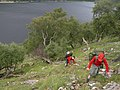 Very steep sides and rough ground on Loch Ericht - geograph.org.uk - 607321.jpg