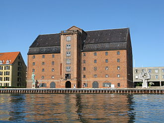 Vestindisk Pakhus - West India Warehouse seen from the water