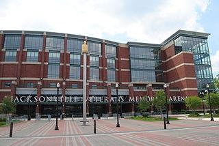 VyStar Veterans Memorial Arena arena in Jacksonville, Florida