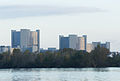 Vienna International Center from Danube River to Northnorthwest - Vienna-.jpg