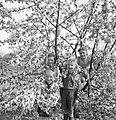 Vier kinderen in een bloeiende boom, Bestanddeelnr 252-1921.jpg