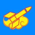 Vietnam People's Army Rocket Vector.png