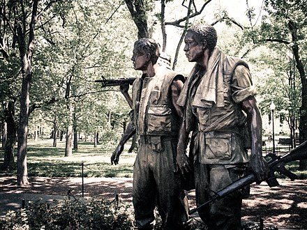 The Three Soldiers by Frederick Hart Vietnam War Memorial in DC.jpg