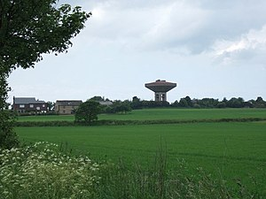 Lathom South - Image: View across fields of wheat geograph.org.uk 834240
