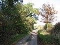View north along Leavy Oak Lane - geograph.org.uk - 1565483.jpg