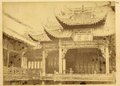 View of Theater of the Canton Guild of Merchants. Hankou, Hubei Province, China, 1874 WDL2106.png