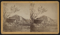 View of a collapsed barn with a haystack, from Robert N. Dennis collection of stereoscopic views 2.png