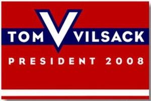 Tom Vilsack - Vilsack's campaign logo