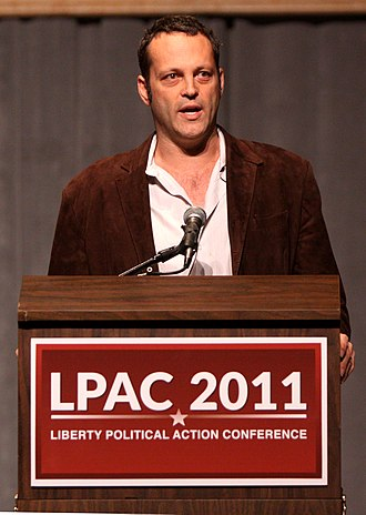 Vince Vaughn - Vaughn at the Liberty Political Action Conference in Reno, Nevada, September 2011.