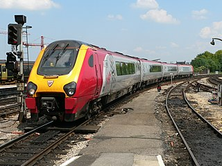 Virgin CrossCountry Former train operating company in Great Britain