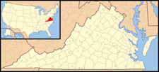 Rustburg is located in Virginia