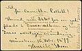 Visittkortportrett sendt fra Henrik Ibsen (1828-1906) til Camilla Collett (1813-1895) (bakside) (15402924336).jpg