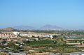Vista cap a Oriola i Callosa des del castell de Guardamar del Segura.JPG