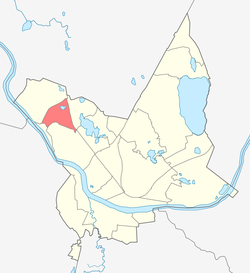 Location of Vizbuļi