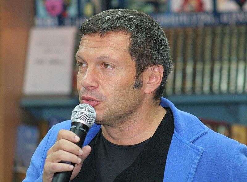 Владимир Соловьев объявил , что между Первым каналом и«Россия-1» начинается вражда