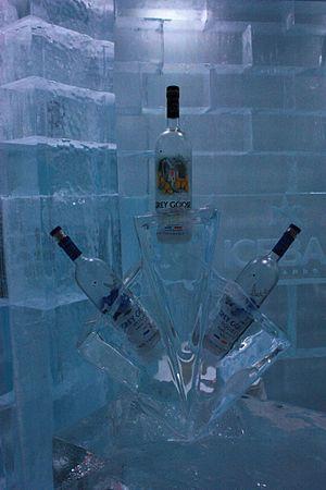 Icebar Orlando - Image: Vodka at Icebar Orlando