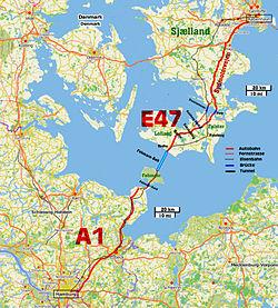 stora bält karta Fehmarn Bält förbindelsen – Wikipedia stora bält karta