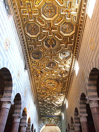 Volterra Cathedral - Ceiling