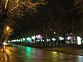 Voskhod Street in Novosibirsk at night 1.jpg