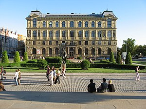 Academy of Arts, Architecture and Design in Prague - Image: Vysoká škola uměleckoprůmyslová v Praze