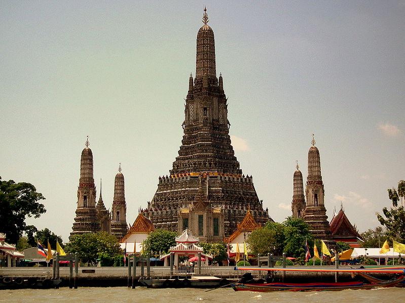 File:WAT ARUN TEMPLE CHAO PRAYA RIVER BANGKOK THAILAND FEB 2012 (6843477282).jpg
