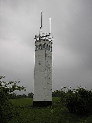 Observation Post Alpha - East German watchtower adjacent to OP Alpha