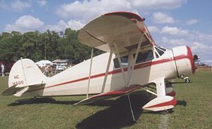 Waco S series - Waco YKS-6 of 1936 at Sun n'Fun, Lakeland, Florida, in April 2009