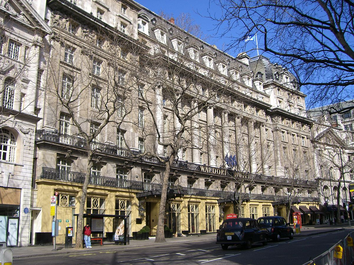 Aldwych wikipedia for Design hotel waldorf