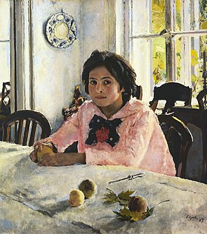 Walentin Alexandrowitsch Serow Girl with Peaches.jpg