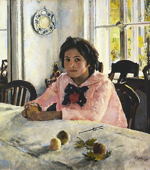 File:Walentin Alexandrowitsch Serow Girl with Peaches.jpg