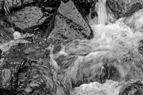 Wandeltocht rond Lago di Pian Palù (1800 m). in het Nationaal park Stelvio (Italië). Kolkend water op weg naar Lago di Pian Palù.jpg