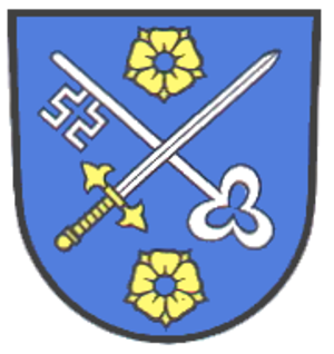 Rheinmünster - Image: Wappen Rheinmuenster