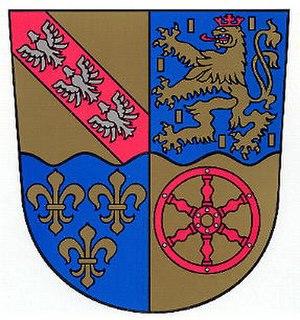 Überherrn - Image: Wappen ueberherrn