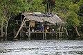 Warao's Palafito (huts) - Palafito de los Warao.JPG