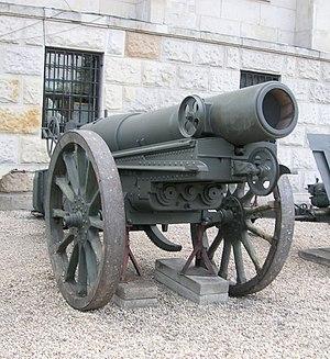 Mortier de 280 modèle 1914 Schneider