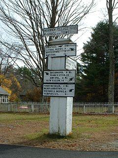 Warwick MA Signpost