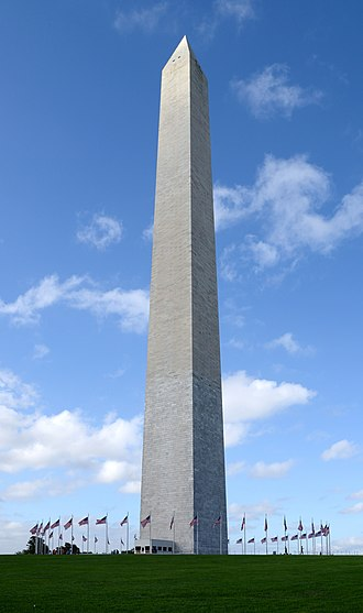 Washington Monument - Washington Monument, pictured on October 2016.