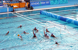 Game at the 2004 Athens Olympics.