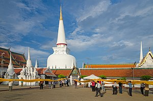 Wat Phra Mahathat - The main Stupa