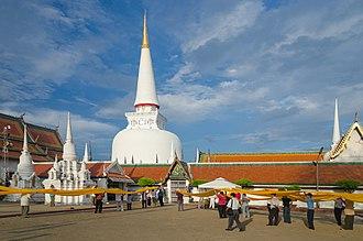 Wat Phra Mahathat - The main Stupa
