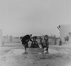 Water well, Ghabaghib, 1965