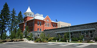Douglas County, Washington - Image: Waterville Douglas County Court House IMG 1832