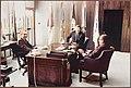 Wayne meets with President Richard Nixon and Henry Kissinger in San Clemente, California, July 1972.jpg