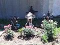 Wayside crosses in highway roar of Tlaxcala.jpg