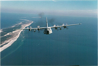 53rd Weather Reconnaissance Squadron - WC-130H Hercules in flight