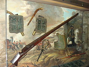 Weapons in the Tower of London