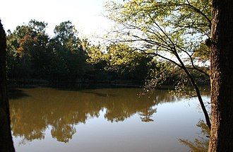 Santee River - Wee Tee Lake, an oxbow of the Santee River valley, SC