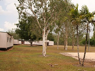 Weipa, Queensland - Former Weipa Immigrant Detention Centre, 2010. It closed in 2014.