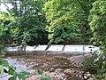Weir In The Sun - 2, River Don, Oughtibridge - geograph.org.uk - 1293048.jpg